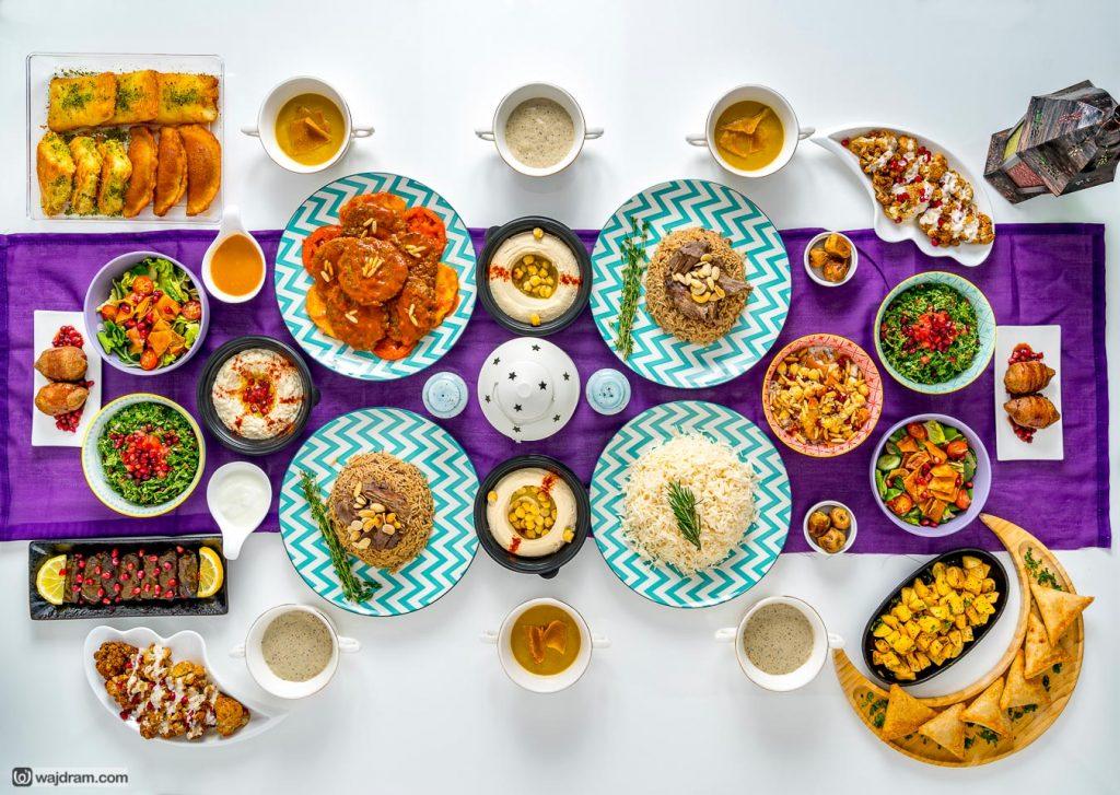 برج الحمام بيسترو - رمضان - مصور - أطعمة - صانع افلام - الرياض - السعودية - وجد رمضان